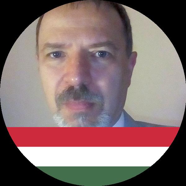 Dr. László Péter - east representative of hungary