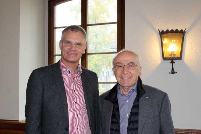 Peter Leisner and Ali Fuat Cakir @east